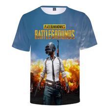 Hot Game PUBG 3D t shirt Men/women Aikooki Fashion Playerunknowns Battlegrounds Mens Print Plus Size Clothe