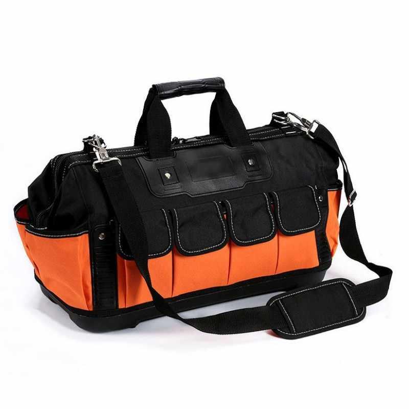 Сумка для инструментов электрик набор инструментов многофункциональная оксфордская матерчатая коробка аппаратный наплечный ящик для хранения инструмента сумка
