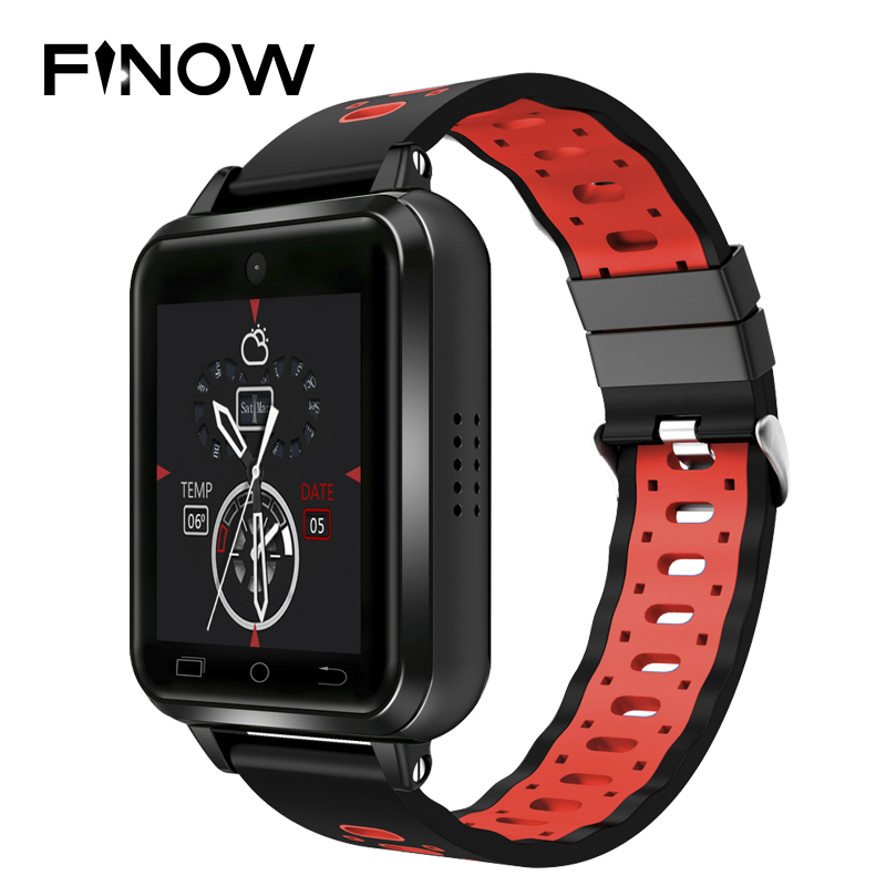 Finow Q1 Pro 4G smart watch Kids Location Sim Card Android 6 0 MTK6737 SmartWatch Phone