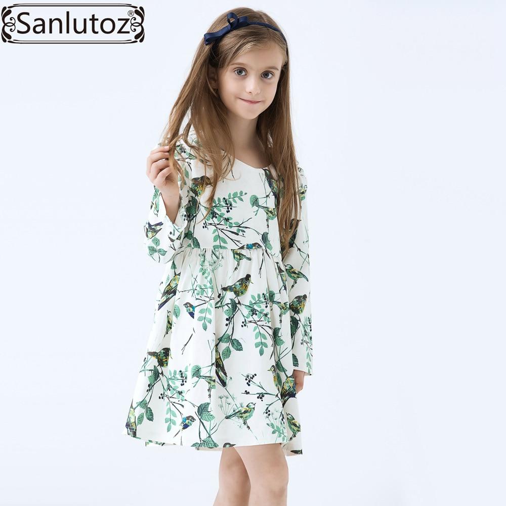 Mädchen Kleid Winter Kinder Mädchen Kleidung Partei Blume Marke ...