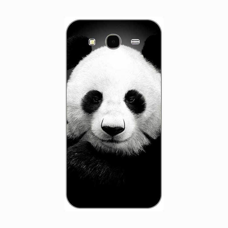 """Samsung galaxy mega 5.8 I9150 GT I9152 9150 9152 5.8 """"Kılıfı Kedi Köpek çiçek hayvanlar tasarım boya Sert arka kapak telefon Çantası"""