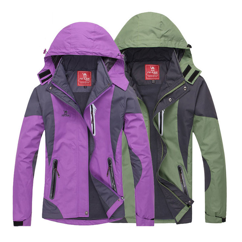 Hot Sale Hooded Waterproof Windproof Outdoor Hiking Men and Women Jackets  Mammoth Jackets Plus Size L 5XL-in Hiking Jackets from Sports    Entertainment on ... 3c7c2b072a5e