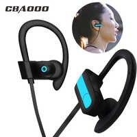 CBAOOO Bluetooth écouteur K9 casque sans fil casque Bluetooth écouteurs mains libres Sport basse écouteur avec micro pour tous les téléphones