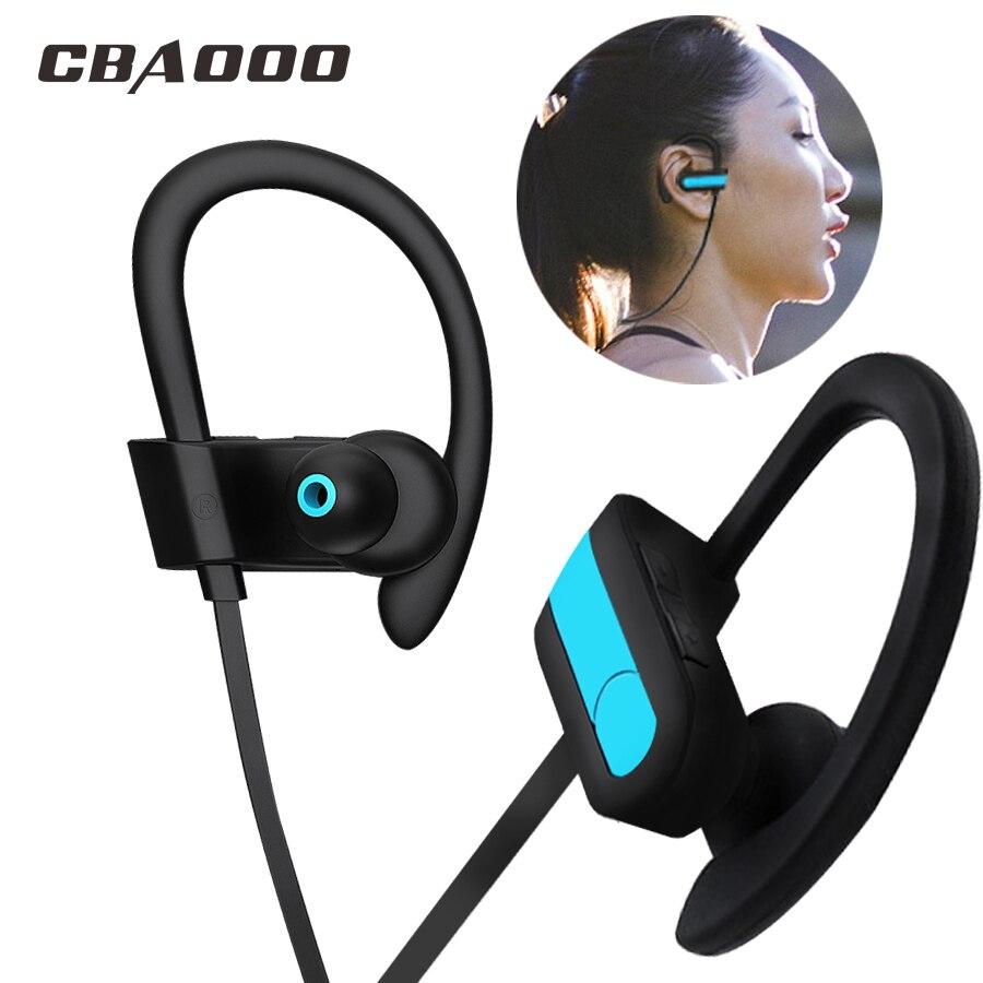 CBAOOO auricular Bluetooth K9 Auriculares auriculares inalámbricos auriculares Bluetooth manos libres deporte bajo del auricular con micrófono para todo el teléfono