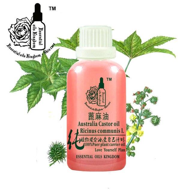 Massage Essential oils kingdom 100% pure plant base oils castor oil 100ml glossy,Phytosome, nourish, wrinkles,skin hair