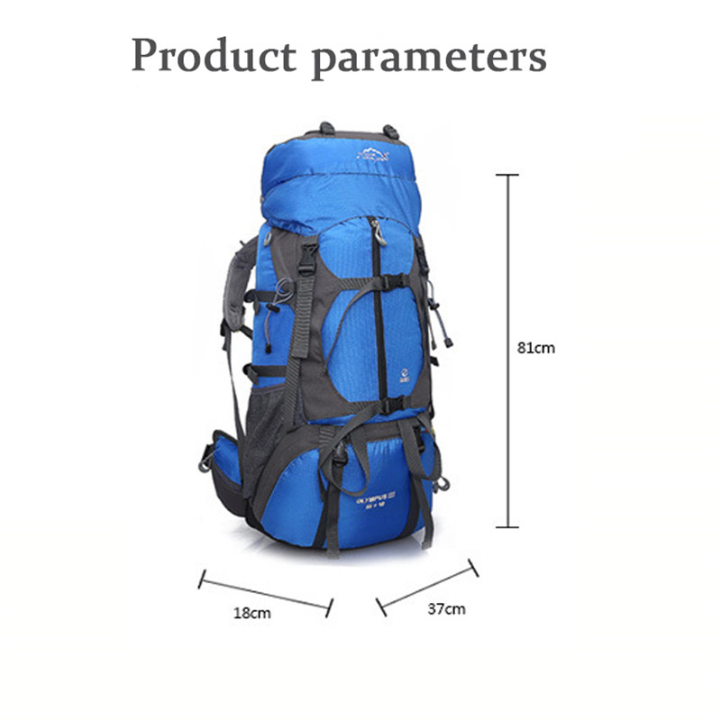 Randonnée Camping sac à dos sacs de plein air grande capacité étanche escalade sac hommes femmes sport voyage sac à dos sac à dos 65L 457A - 3