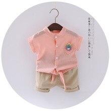 Korean Style Summer Toddler Baby Girls Casual T-Shirts Lovely Heart Pocket Soft Blouse Tops Girls Shirt Collar