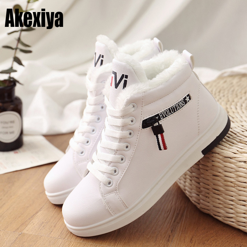 winter boots women ankle boots warm winter woman shoes sneakers flats lace up ladies shoes women short snow boots 2019 y755 недорго, оригинальная цена