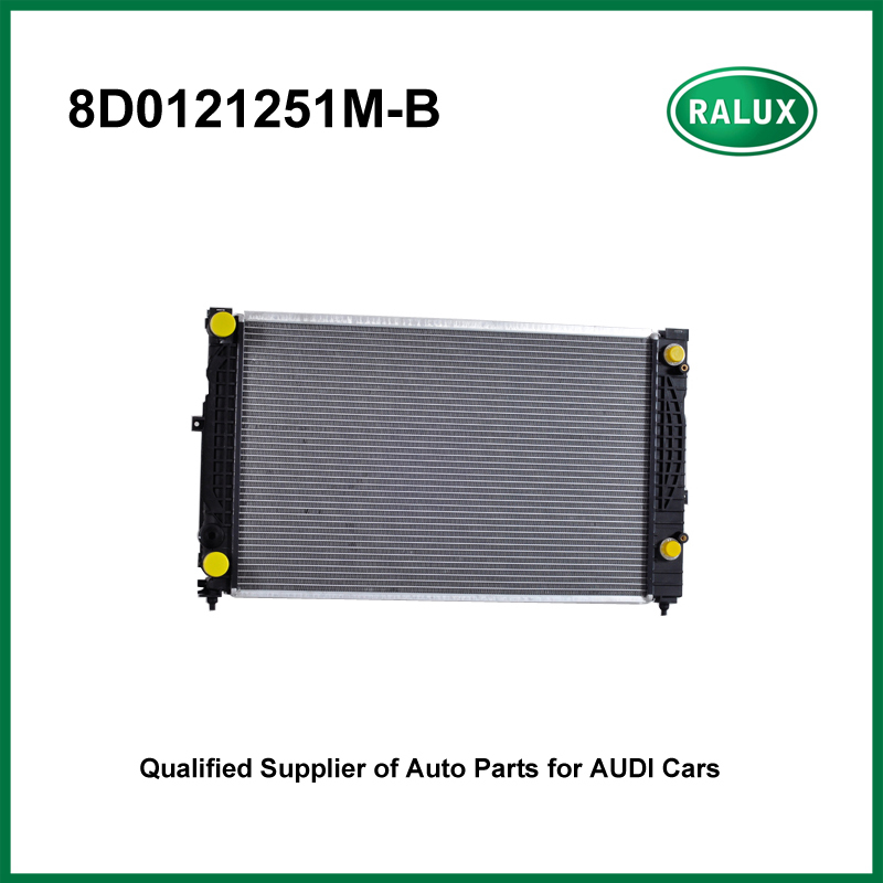 Car Cooling flat tube Radiator For Audi A4 Quattro 1997-2001 Volkswagen Passat 1998-2005 auto radiator engine OE NO. 8D0121251M radiator cooling fan relay control module for audi a6 c6 s6 4f0959501g 4f0959501c
