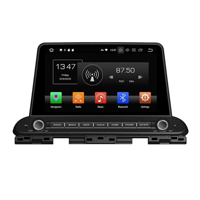 KLYDE 9 1 Din Android 8.1 Car Radio For Kia CERATO FORTE 2018 Car Audio 2+16GB Multimedia Player Car Stereo 1024*600 Steering