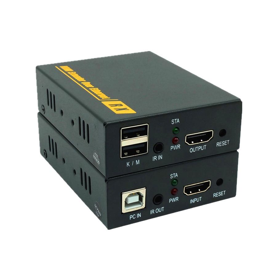 font b Network b font 1080P HDMI KVM Over IP Extender High Quality 120m USB