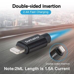 Image 5 - Suntaiho 2.4A USB kablosu iPhone X için şarj aleti kablosu iPhone XR MAX XS 8 7 6 artı 5 s USB Veri kablolu telefon Hızlı şarj kablosu