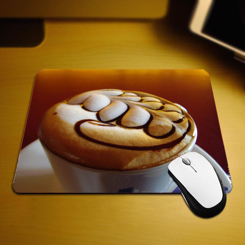 Mairuige The Creative Table Mats Mouse Pad Food Pattern Looks Like Delicious Lifelike Images Small Size 220x180x2MM Pad To Desk