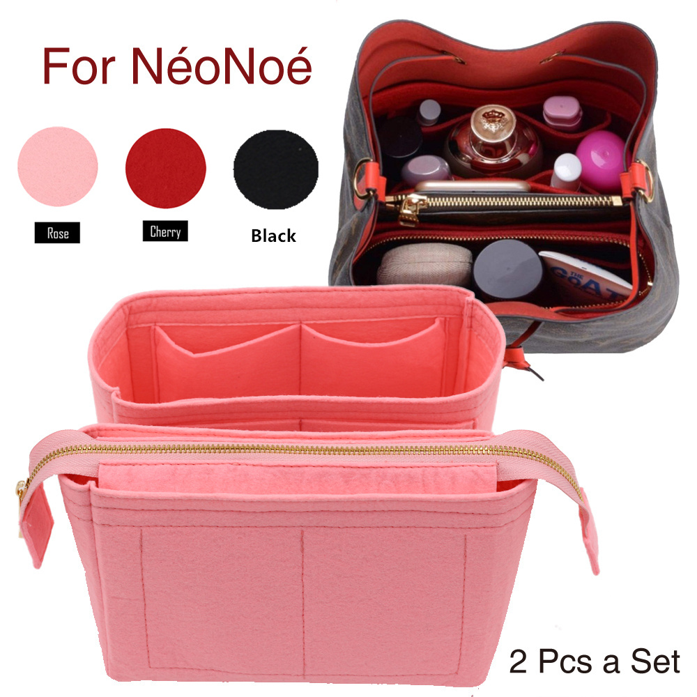 For Neo Noe Insert Bags Organizer Makeup Handbag Organize Travel Inner Purse Portable Cosmetic Base Shaper For Neonoe