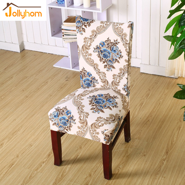 stretch dining chair covers black spandex 1pc new printed design cover easy installation restaurant banquet hotel anti dirty covering