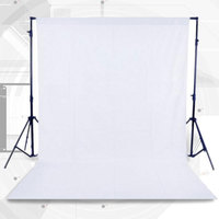 Cewaal 1.8*2.7m Nonwovens Photo Background Photography Backdrops Backgrounds Studio Video Cloth Screen Solid Green Black White
