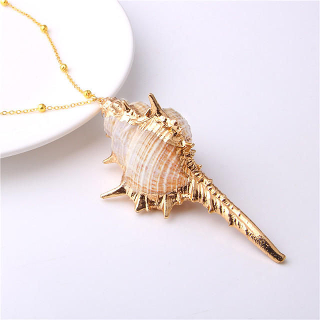 Boho Shell Conch Necklace
