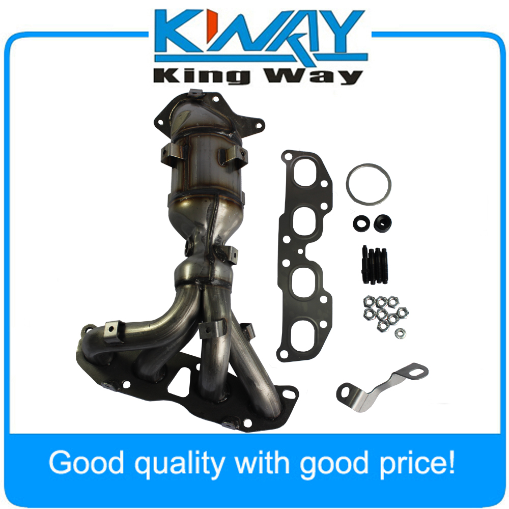 New Exhaust Manifold With Catalytic Converter Fits For Nissan Altima 25l 20072013: 2008 Nissan Altima 2 5 S Exhaust Manifold At Woreks.co