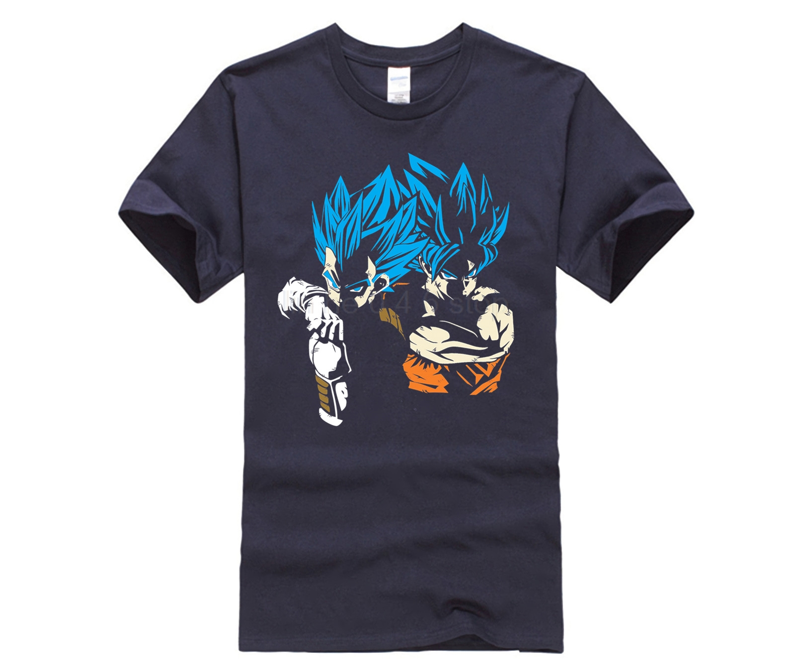 The hottest T shirt in the world RIVALS OR VEGETA AND GOKU Men Short Sleeve T Shirt Private custom T shirts in T Shirts from Men 39 s Clothing