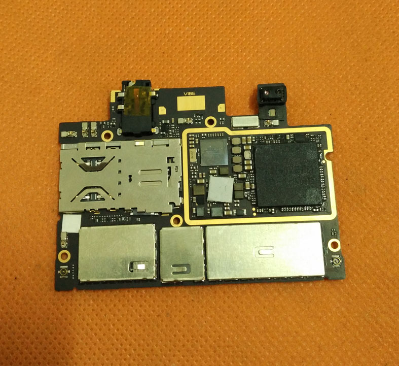 Original mainboard 2G RAM+32G ROM Motherboard for Lenovo X2 Vibe MTK6595 Octa Core 5.0 inch FHD Free shipping
