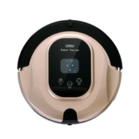Intelligent Vacuum Robot Home Cleaner Timing Remote Control LED Display UV Light Smart Automatic Cleaning Robot
