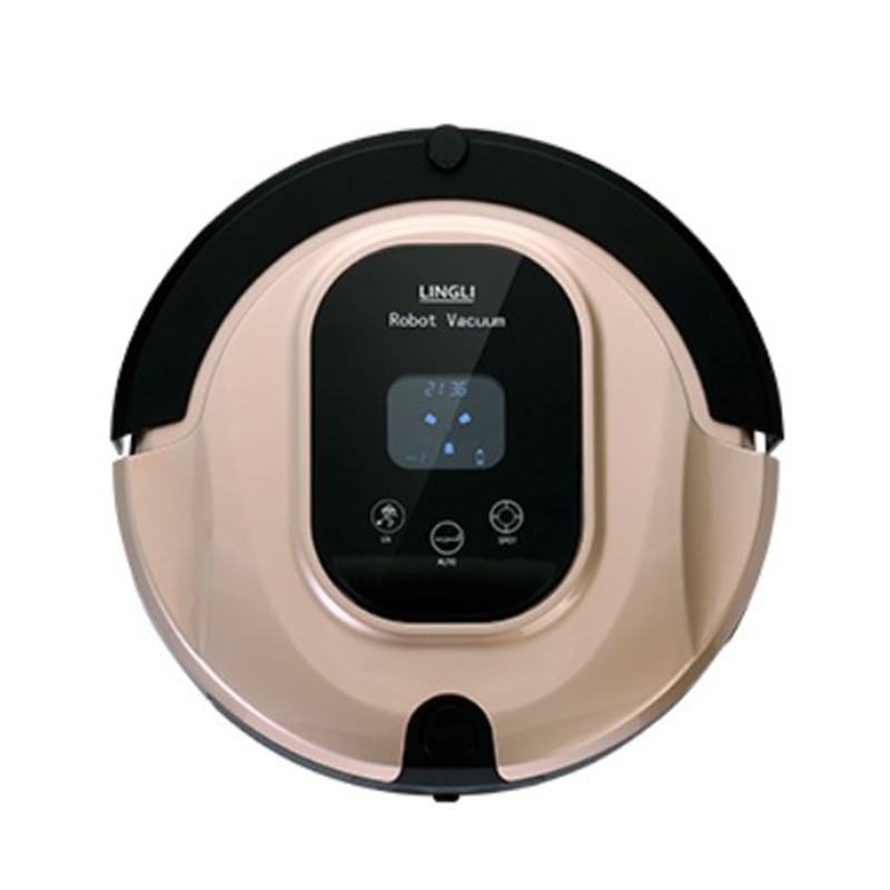 Intelligent Vacuum Robot Home Cleaner Timing/Remote Control/LED Display/UV Light Smart Automatic Cleaning Robot Insecticide Mite