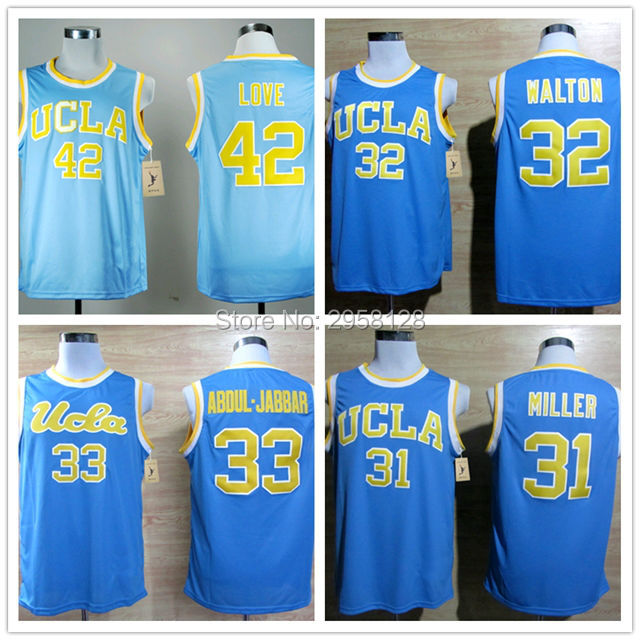 6b65f6587635 ... where to buy blue cheap basketball jersey movie ucla bruins 42 kevin  love 31 reggie miller