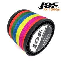1000M JOF Brand Super Strong Japan Multifilament PE Braided Fishing Line 18 28 35 40 50