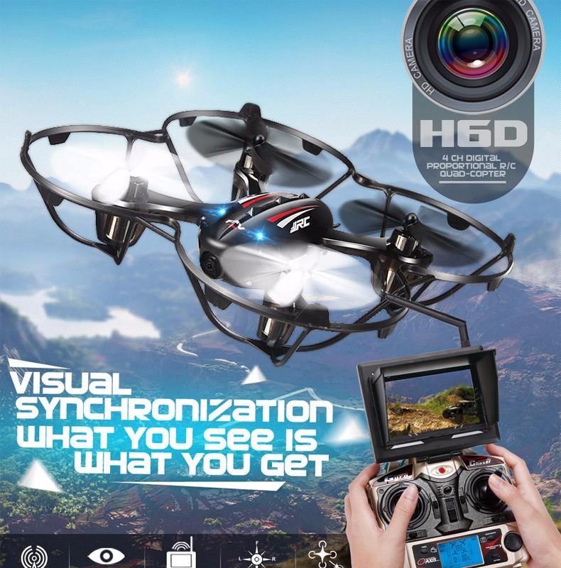 FPV Mini Drones With Camera Hd Jjrc H6d Quadcopters With Camera 4CH Flying Helicopter Camera Professional Drones Rc Dron Copter (1)