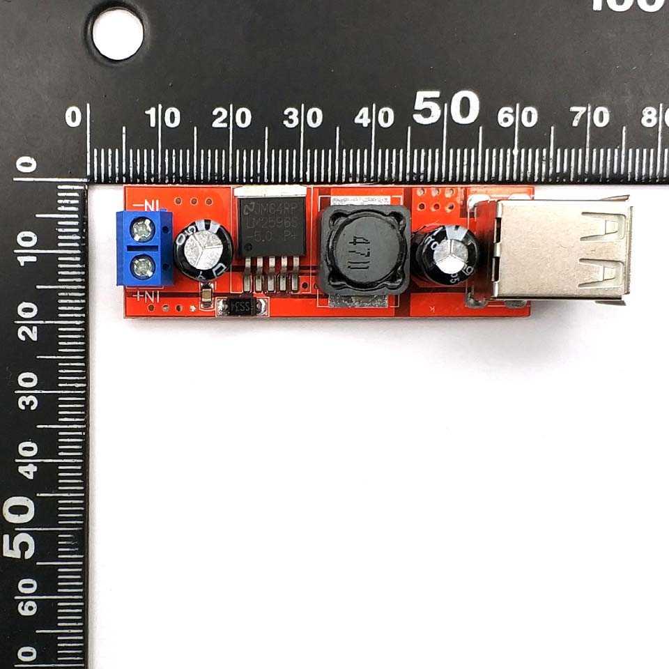Dual USB Output DC-DC 9V/12V/24V/36V Sampai 5V 3A Langkah down Power Modul Konverter 6V-40V 150K Hz Listrik Modul Papan