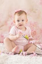 Vinil fino fotografia fundo fantasia floral personalizado foto Prop fundos 1.5 X 1.5 m F-1475