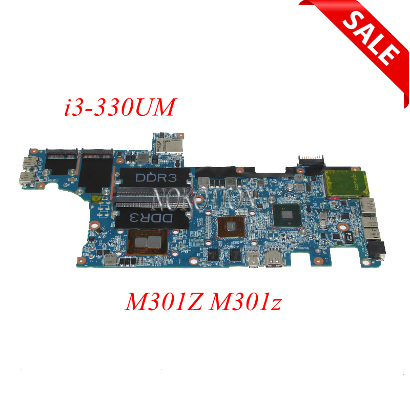 NOKOTION CN-0F1X70 0F1X70 F1X70 laptop motherboard for dell Inspiron M301Z M301z HM57 HD5430 I3-330UM CPU DDR3 Main board tested nokotion for dell inspiron m301z n301z laptop motherboard cn 0f1x70 0f1x70 hm57 i3 330um cpu ddr3 hd5430 video card