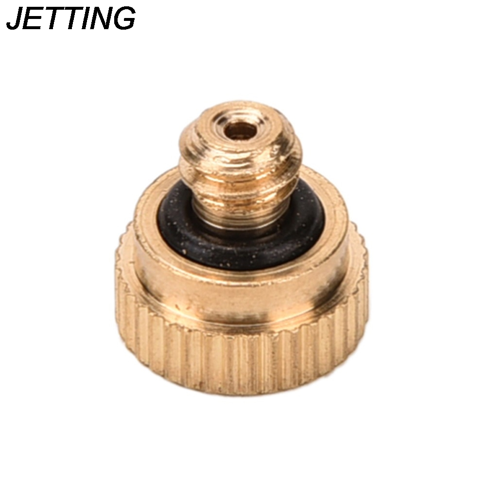 10 X 0.3mm Brass Misting Nozzles for Cooling System Humidification Sprayer
