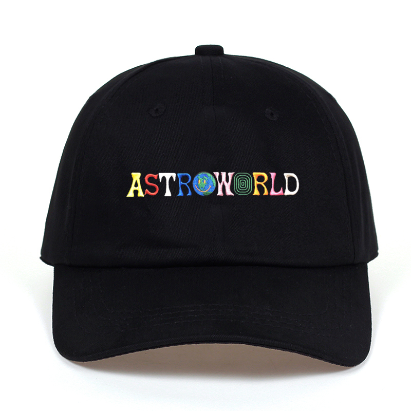 Travi$ Scott latest album ASTROWORLD Dad Hat 100% Cotton High quality embroidery Astroworld Baseball Caps Unisex Travis Scott(China)