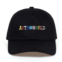 Travi Scott latest album ASTROWORLD Dad Hat 100 Cotton High quality embroidery Astroworld Baseball Caps Unisex