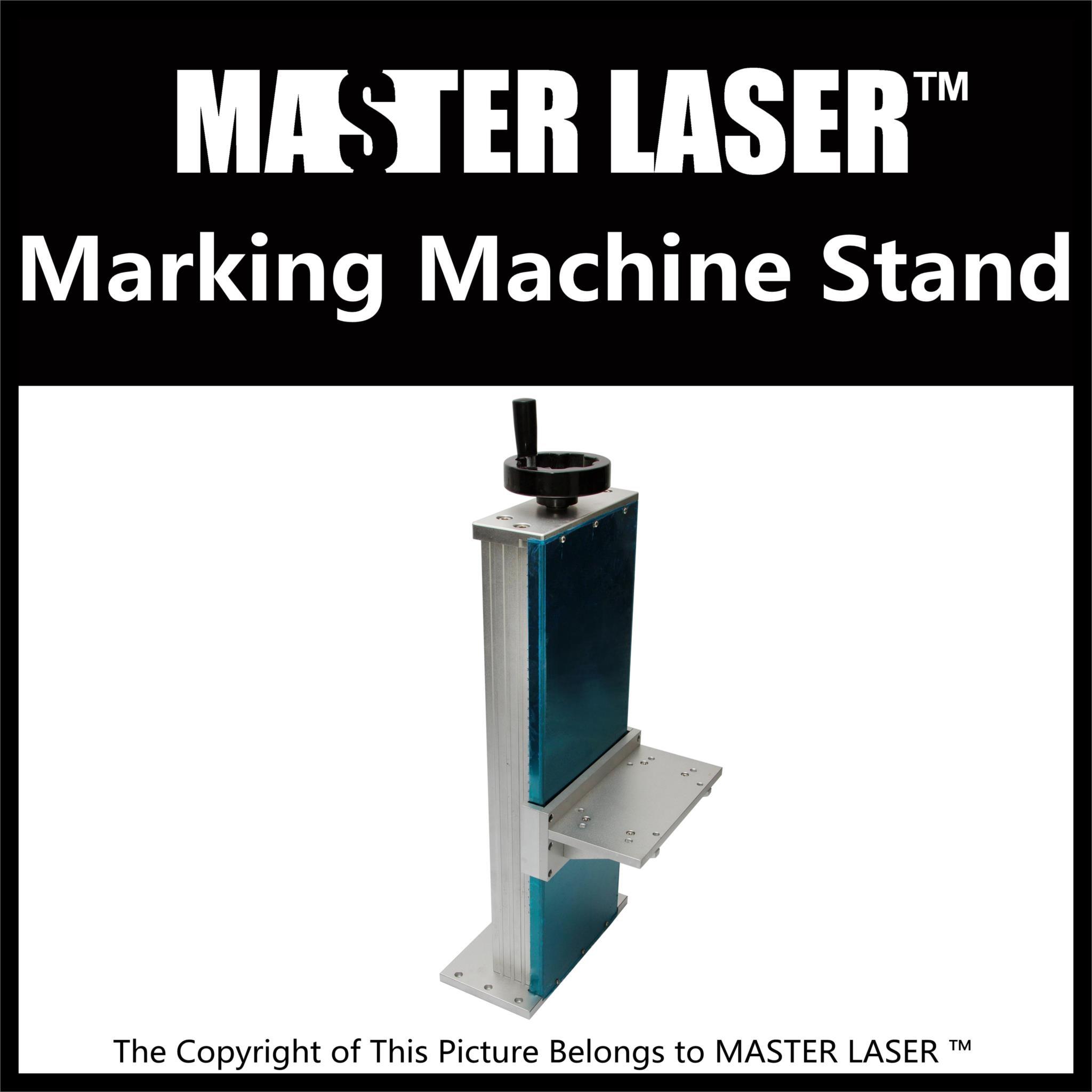 1064nm Fiber Laser Marking Engraving Machine Case Stand Height 50cm Machine Pillar ipg 1 mj ylp series high average power fiber laser of laser marking machine