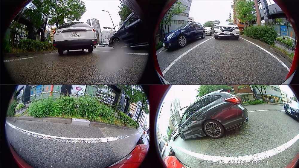 Автомобильная многоугольная камера 3D HD вид панорамный обзор системы 360 градусов птичий вид панорамная система