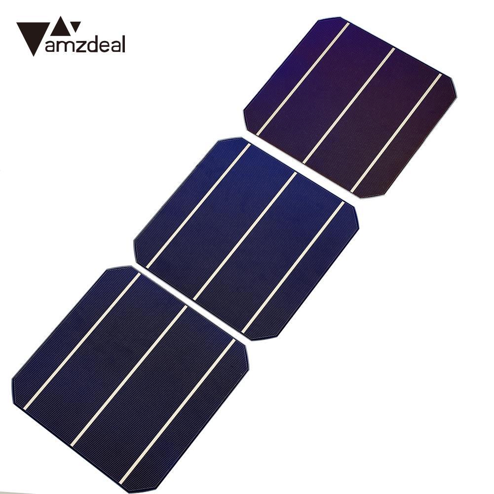 DIY Solar Panel 4.7W Multifunctional Solar Panel DIY Solar Cells Mono Charging Board Solar Panel Cell Premium 20pcs/Bag ty 3 solar panel holders set for diy model toy white yellow