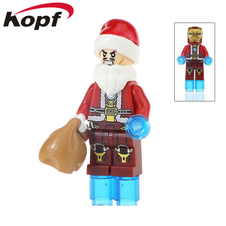 Motivated 20pcs Super Heroes Thor Merry Christmas Iron Man Captain America Figures Collection Building Blocks For Children Toys Gift Kf385 Highly Polished Toys & Hobbies Blocks