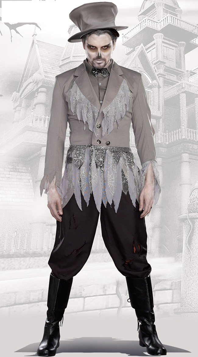 Halloween Male Adult Zombie Costume