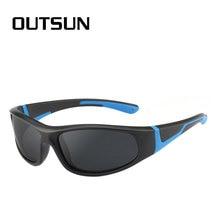 eaf01c726 Super Cool Black Frame Lentes Polaroid Proteção UV400 Crianças Óculos De Sol  Crianças Óculos Polarizados Óculos
