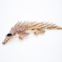 Jewelry wholesale authentic fashion new luxury brooch brooch pin female pangolin