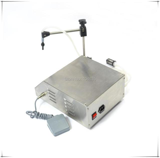 Free shipping!GFK-160 Bottle filling machine liquid filler Digital Control Pump Drink Water Liquid Filling Machine 5-3500ml
