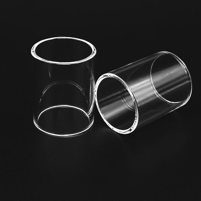 Original Vapesoon Replacement Pyrex Glass Tube 2ml & 4ml For Kayfun Prime MTL 22mm RTA 2ml & 4ml Clear Glass Tube
