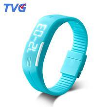 ТВГ подлинные хан издание прилив студент часы для женщин Дети смотрят девушки спортивные электронные часы любителей мужчины браслет