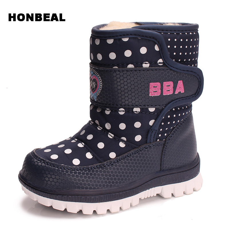 Spring and Autumn Winter Anti-Skidding Children Fashion Shoes Rubber Boots Leather Boots Boys Girls Sports Shoes