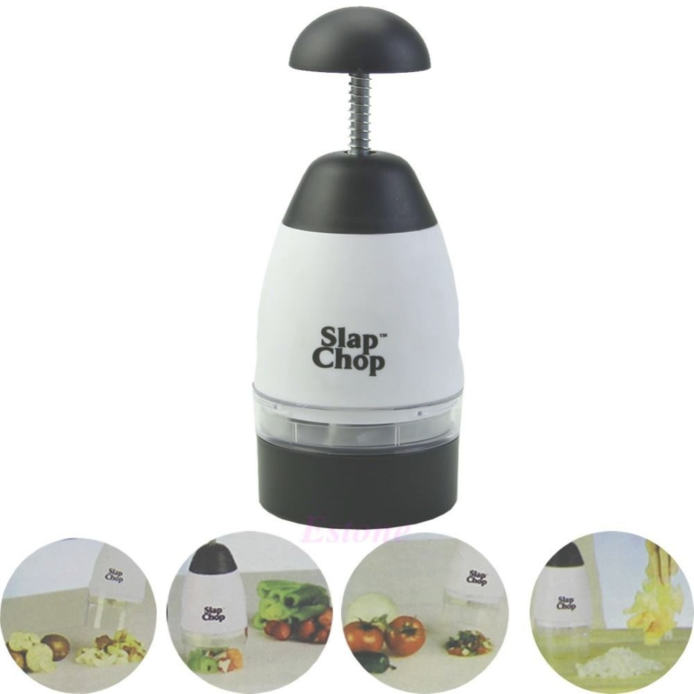 Garlic Triturator Food Chopper Slap Chop Fruit Vegetable Grater Kitchen Tool New