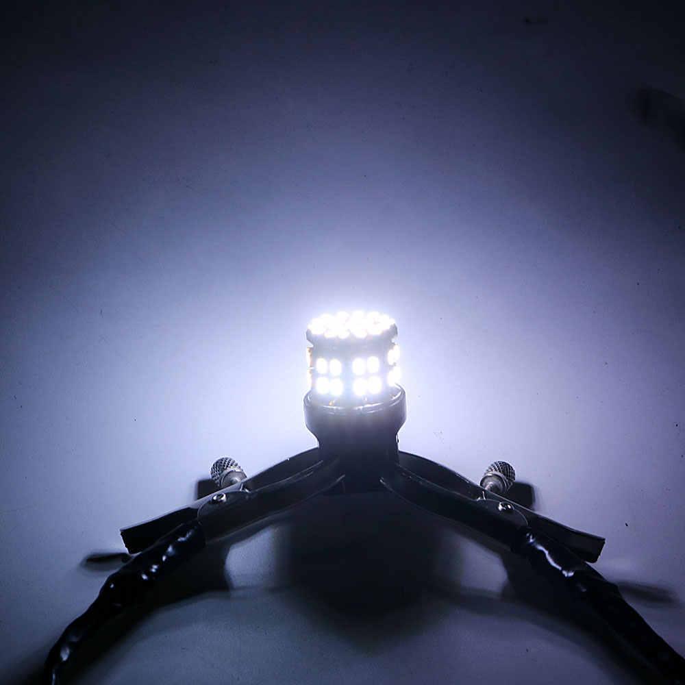 FORAUTO 1 زوج W21/5 واط 50SMD سيارة ضوء الفرامل LED T20 7443 احتياطية الاحتياطي أضواء وقف الخلفية لمبة السيارات بدوره مصباح إشارة