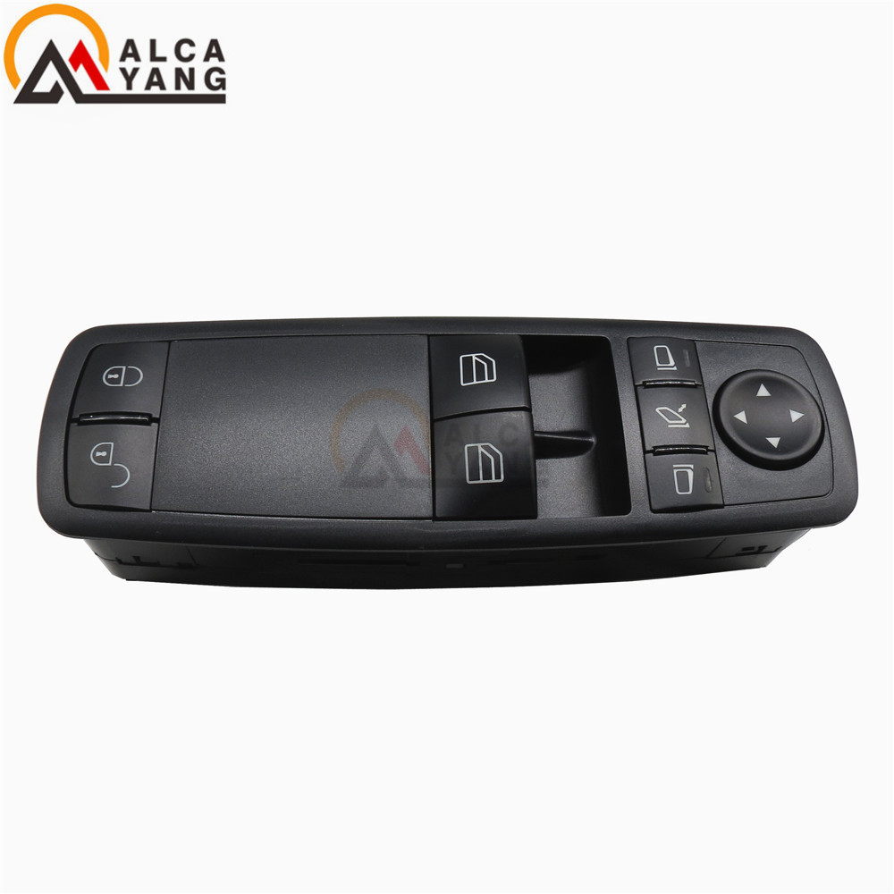 Malcayang Free Shipping Electric Power Window Switch A1698206810 1698206810 For Mercedes Benz A W169 B W245 ML W164 R W251 GL new electric power window switch for mercedes benz gl r ml class 2006 2012 oe 2518300090 2518300090