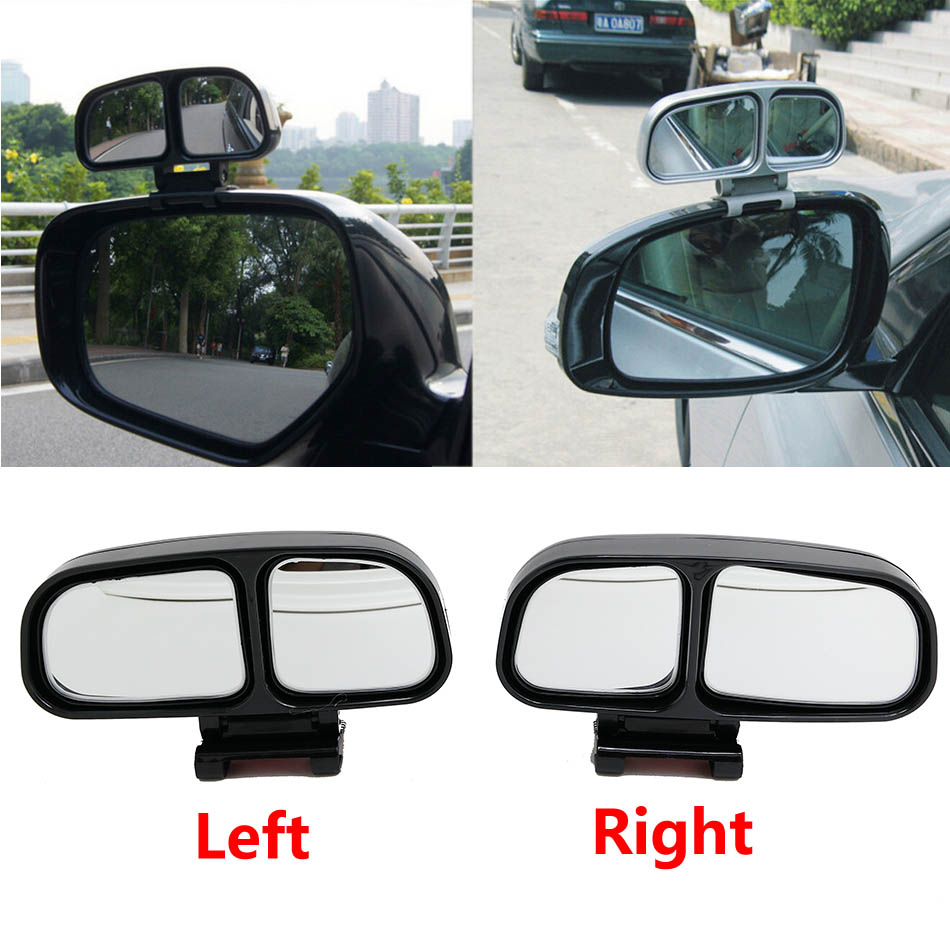 1 Pair Car Wide Angle Rear Mirrors Side Rearview Car